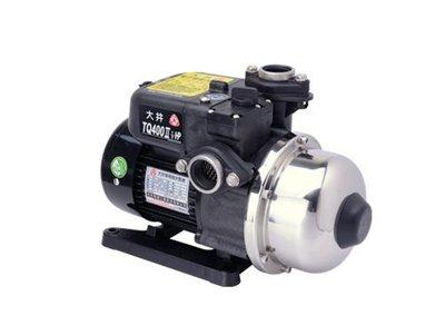 大井泵浦工業股份有限公司TQ400電子穩壓加壓機 ,TQ400加壓馬達,TQ400加壓泵浦,大井桃園經銷商.