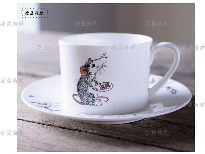 凌晨商社 // 北歐 英國 復古 動物 老鼠 文青 手繪 素描 咖啡杯  茶杯 下午茶杯 咖啡杯碟  ZAKKA 老鼠款