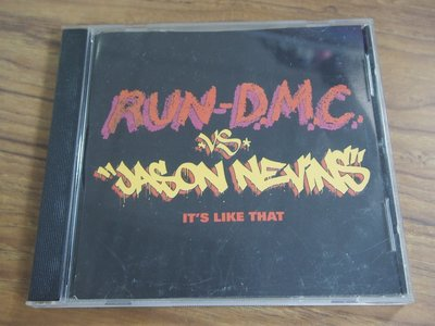 ◎MWM◎【二手CD】Run-D.M.C. VS. Jason Nevins- It's Like That 無歌詞