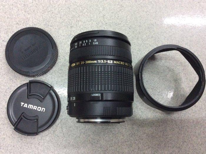[保固一年]【高雄明豐] Tamron AF 28-300mm F3.5-6.3 便宜賣 canon用
