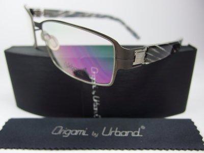 【信義計劃】全新真品 Urband 日本手工眼鏡 鈦金屬大框 專利彈簧膠腳 超越 Infinity Lindberg
