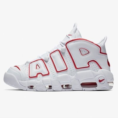 R代購 GS Nike Air More Uptempo PIPPEN 96 Renowned Rhythm 大AIR 白紅 DJ5988-100 女鞋