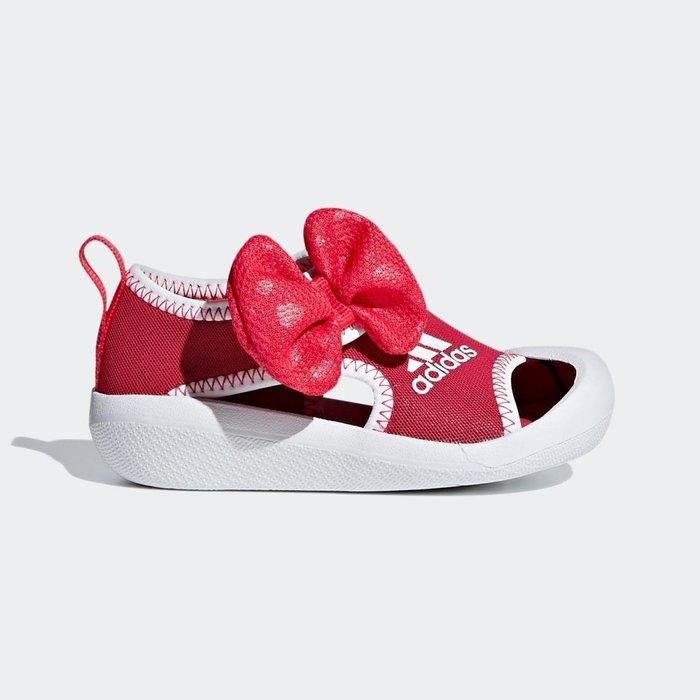 【鞋印良品】愛迪達 ADIDAS 迪士尼 Minnie I D96910 桃紅/白 女童 護趾涼鞋 包頭 透氣 防滑