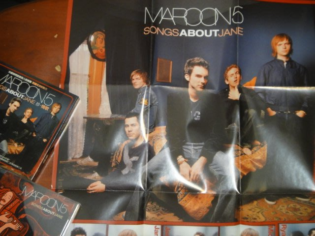 Maroon 5 魔力紅 Songs about Jane 珍情歌特別版附海報
