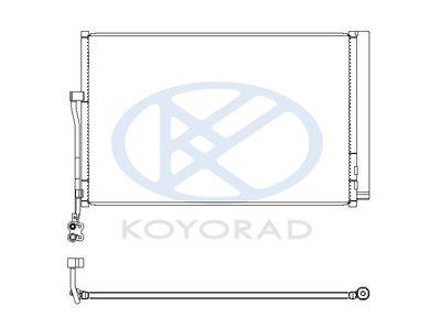 JK RACING 日本 KOYORAD VW TOUAREG 冷排 CD451131 10~14