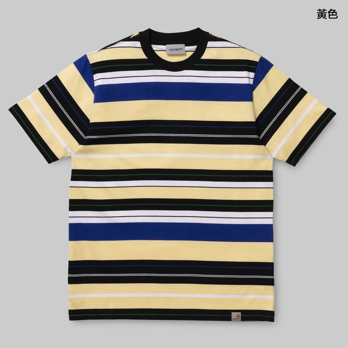 【Shopa】預購 Carhartt WIP 2019 秋冬 Flint 橫條紋 短袖 T恤 2色