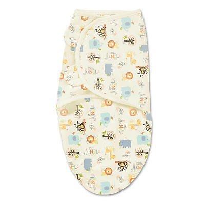 美國Summer Infant/SwaddleMe 懶人包巾 嬰兒包巾純棉【S號】動物園