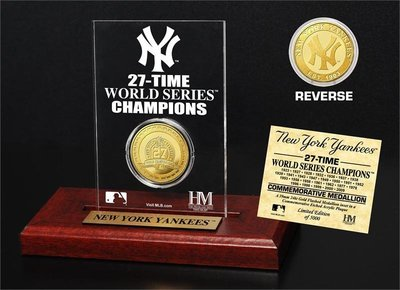 New York Yankees HM 世界冠軍黃金紀念幣