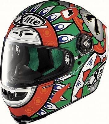 義大利 carbon 卡夢安全帽 印地安 阿拉伯 圖騰 X-Lite X-803 C. Davies Replica