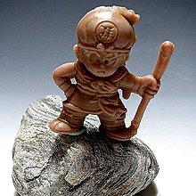 【 金王記拍寶網 】(常5) W5136 早期台灣袖珍老玩具 七龍珠 老品一隻 絕版罕見稀少 (櫥櫃袖珍品老玩具珍藏)