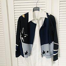 原價兩萬多 PENNY BLACK 印花科技太空棉無領外套
