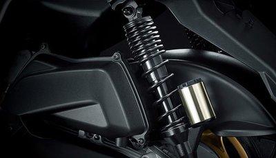【車輪屋】YAMAHA 山葉原廠部品專賣  BWS-X 125 氮氣後避震器 掛瓶 另有白色 一對 私訊優惠