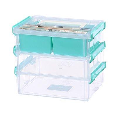 315百貨~聯府  7號高點連結盒(3層T1) CC7031  收納盒/置物盒/整理盒