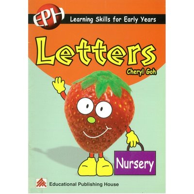 Pre-school Learning Skills for Early Years Letters(Nur.)基礎英語