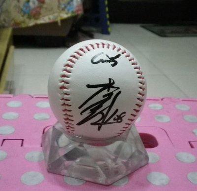 棒球天地---日本職棒李昱鴻加簽巨人簽名球.字跡漂亮