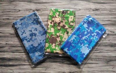 韓版時尚迷彩風格 機能材質涼感吸汗 抗UV 運動 旅遊 毛巾 冷感巾 吸水巾 防曬 頭巾 COOLCORE 同材質