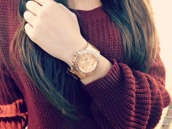 保固2年 現貨 全新原裝正品 Michael Kors 鑲鑽女錶 MK5412 43mm MK包 玫瑰金 MK包 全配件