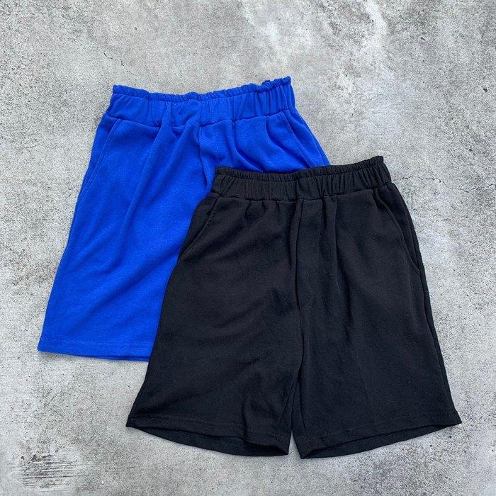【inSAne】韓國購入 / 棉質 / 舒適 / 短褲 / 單一尺寸 / 黑色 & 寶藍