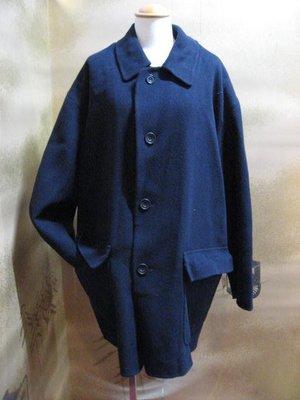Burberry真品100%・男生外上衣・外套.H31012118888.2000.藍色・B181201