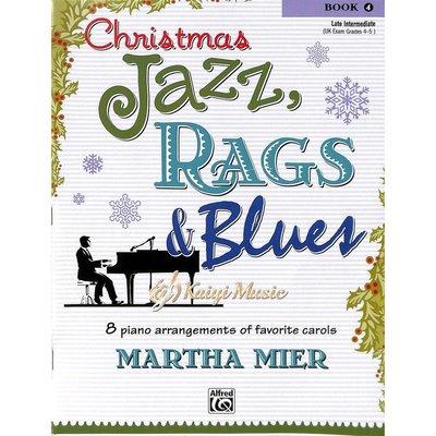 Kaiyi Music 【Kaiyi Music】爵士、散拍與藍調的聖誕節曲目Christmas jazz rags&blues book 4