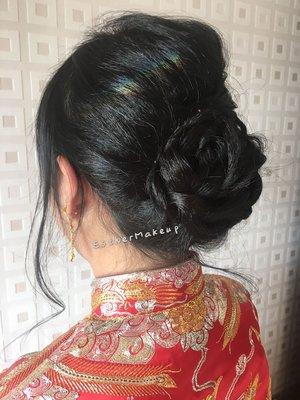 新娘化妝 Pre-wedding