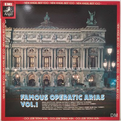 黑膠唱片 V.A. - Famous Operatic Arias Vol.1