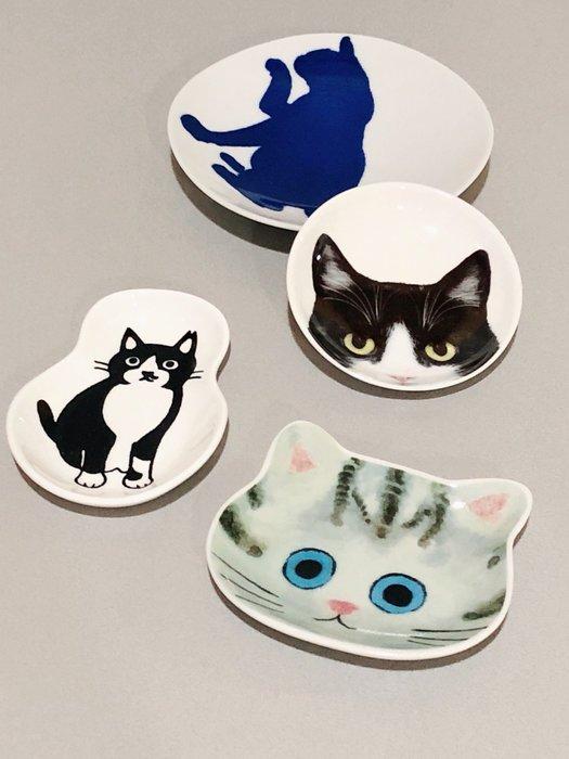 日本可愛猫咪小盤碟(不拆售)