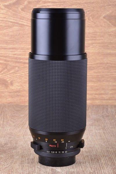 【品光攝影】CONTAX  T* 70-210mm F3.5 AEG MACRO 德鏡 CY口 #33508J