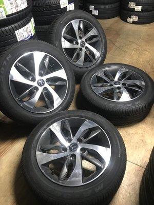 CS車宮車業 二手圈 16吋 LUXGEN S3 原廠鋁圈 含胎 MAXXIS MA307N 205/55/16