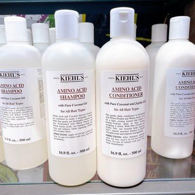 Kiehls 契爾氏 氨基酸洗髮精 氨基酸潤髮乳 500ml 護髮素