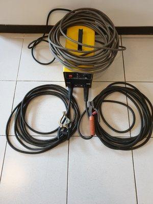 免運費電焊機 台灣製上好牌 MMA-250 5.0焊條連燒100支 防電擊防觸電 送電焊線 電源線 電焊夾 接地夾