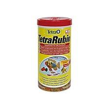 魚樂世界水族專賣店# 型號:T162 德國 Tetra Rubin 熱帶魚增艷飼料(彩紅薄片) 1L孔雀魚燈魚