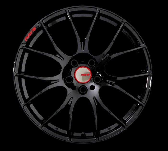 DJD19051733 日本正 RAYS 2X7 GLOSSY BLACK 19吋 鍛造鋁圈 依當月報價為準