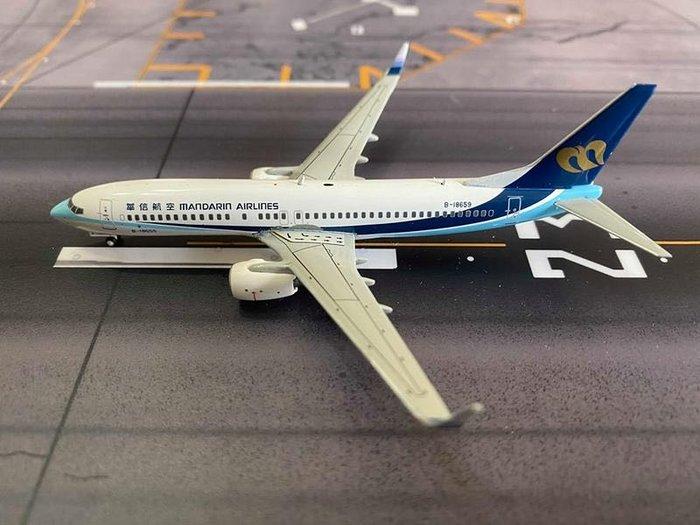 華信航空 MDA B737-800  1/200