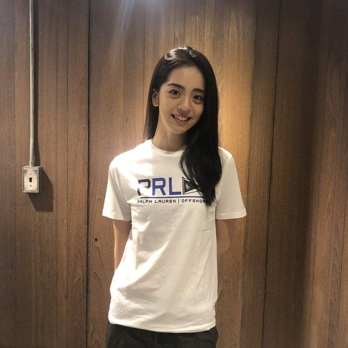 美國百分百【Ralph Lauren】T恤 RL 短袖 T-shirt Polo 小馬 圖案 白色 XS S號 I154