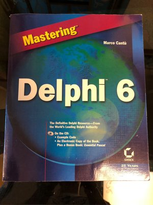 Mastering Delphi 6 with CD Marco Cantu sybex