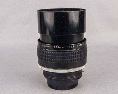 經典大光圈人像鏡Nikon 105mm f1.8 AI-S