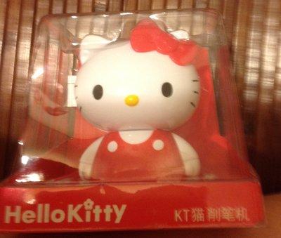 全新Hello Kitty 凱蒂貓 3D立體公仔 手搖削鉛筆機 可愛削筆器 削筆機