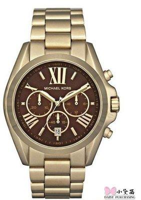 【小黛西歐美代購】MICHAEL KORS BRADSHAW WRIST WATCH 經典手錶 MK5502 美國連線代購