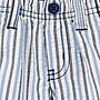 【B& G童裝】正品美國進口GYMBOREE藍色直條紋短褲12-18mos