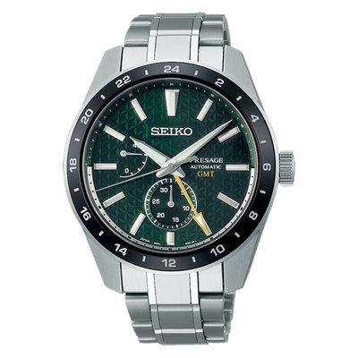 日本精工SEIKO Sharp Edged Series 新銳系列動力顯示機械錶 6R64-00C0G