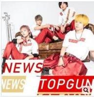NEWS 雙A面單曲Top Gun/Love Story(台壓初回Top Gun版)CD+DVD盤