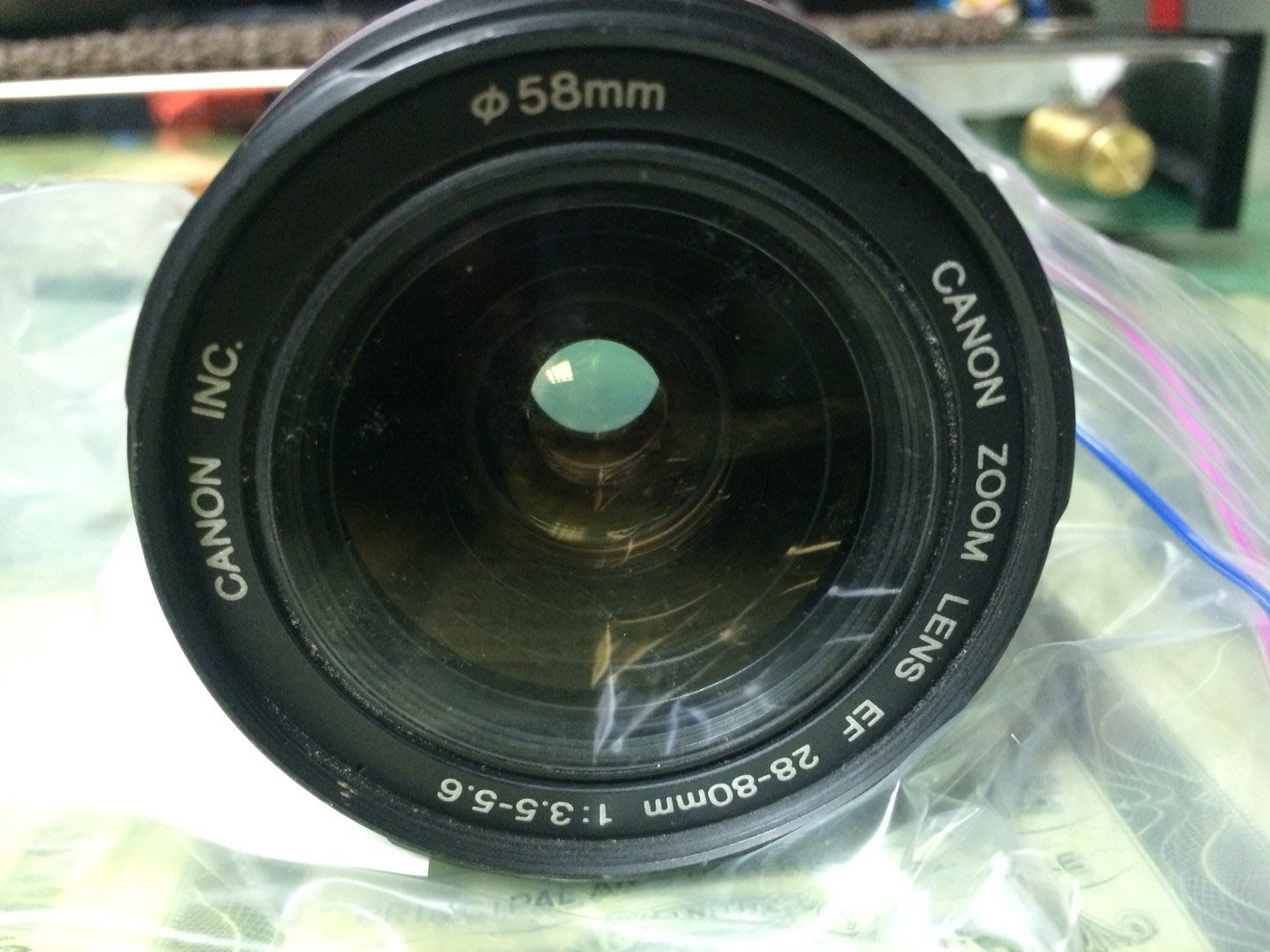 Canon ZOOM LENS EF 28-80 mm 1:3.5-5.5 單眼 鏡頭 58mm