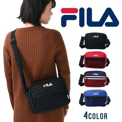 《FOS》日本 FILA 時尚 肩背 側背包 斜背 小包 方包 腰包 輕量 雜誌款 出國 逛街 熱銷 潮流 2019新款