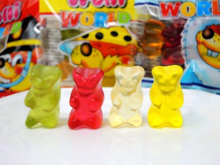 3號味蕾~ 單包裝   Trolli 德國多利QQ軟糖1000克 (熊世界、蚯蚓、酸蚯蚓)量販價... ...