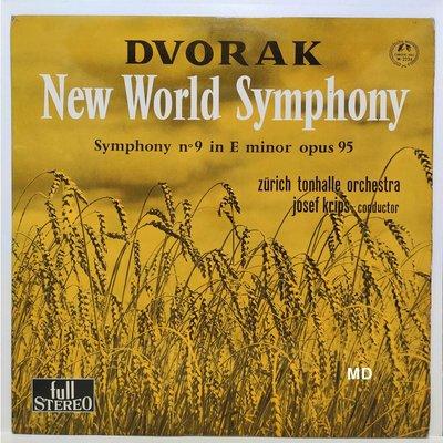 黑膠唱片 Josef Krips - Dvorak New World Symphony