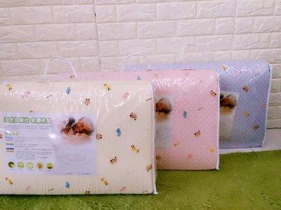 *北鼻良品* 台灣製造 嬰兒 蜂巢式 透氣 100%天然乳膠 床墊中床 嬰兒床 適用 M 號 3.5公分 加厚款