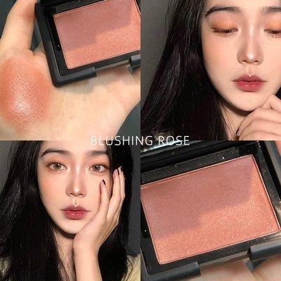 SANLI美膚好看的 ELF單色腮紅blushing rose磚紅色83136珊瑚橘candid coral