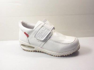 Zobr路豹牛皮氣墊休閒鞋 NO: BB263 顏色: 白色 雙氣墊款式 ( 最新款式)