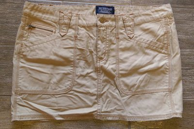 .經典基本款.絕對正品 Polo Jeans Company 經典卡其牛仔裙.